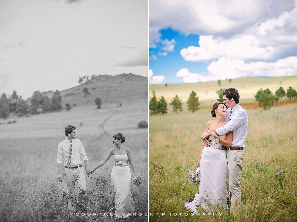 Leigh Ann Amp Jordan S Flagstaff Forest Wedding Courtney