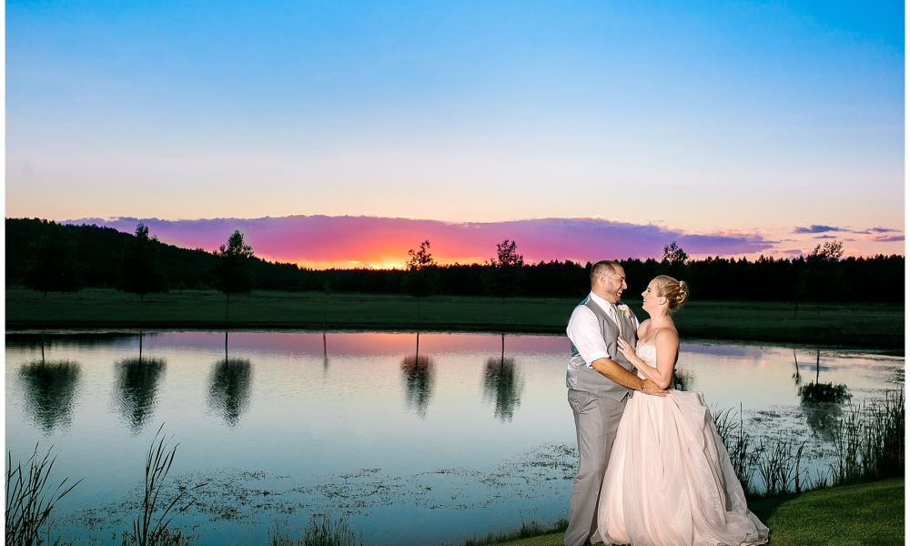 Chelsea & Evan's Flagstaff Foxboro Ranch Estates Wedding