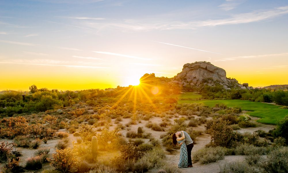 Julie & Jim's Scottsdale Boulders Resort Engagement Session