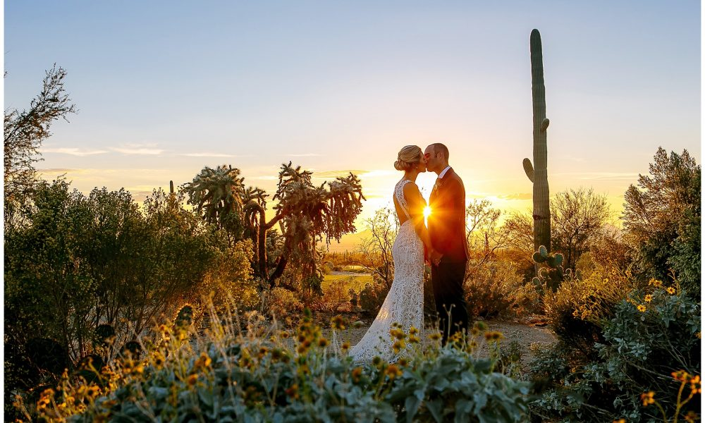 Lisa & Chris' Tucson Ritz Carlton Dove Mountain Wedding