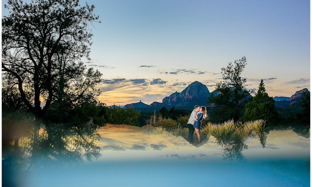 Carly & Dave's Sedona Engagement Session