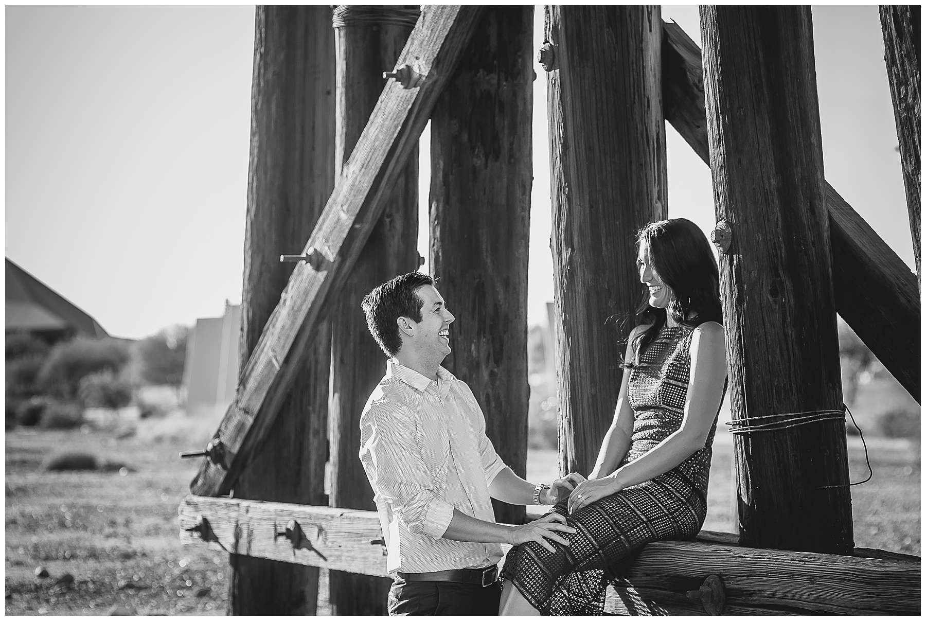 Phoenix Engagement photographer, Royal Palms Resort