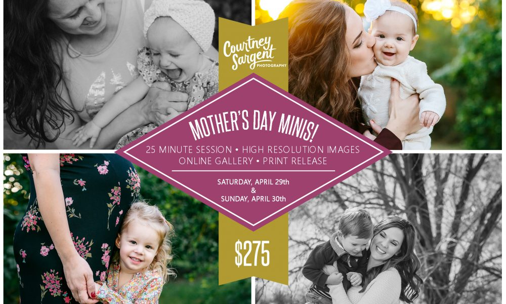 Book Your Mother's Day Mini Session!