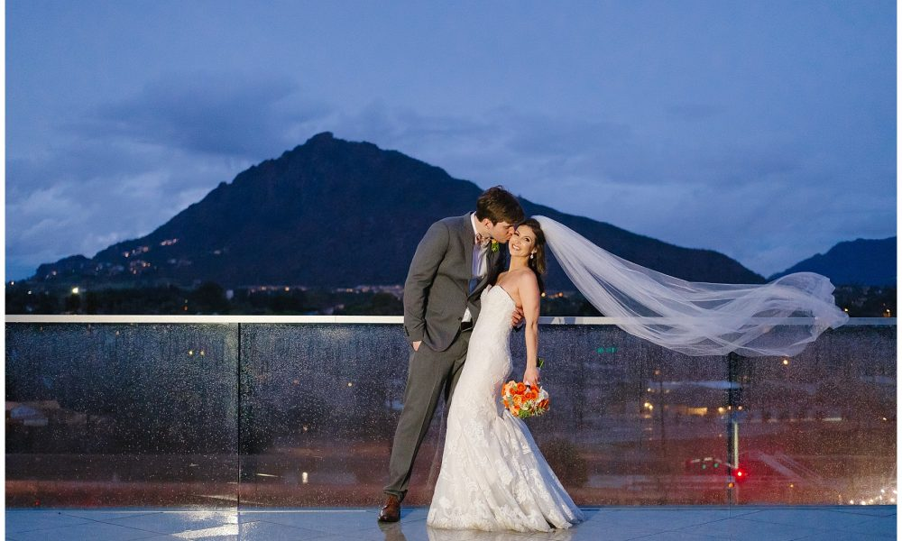 Lindsay & Chris' Scottsdale Hotel Valley Ho Wedding