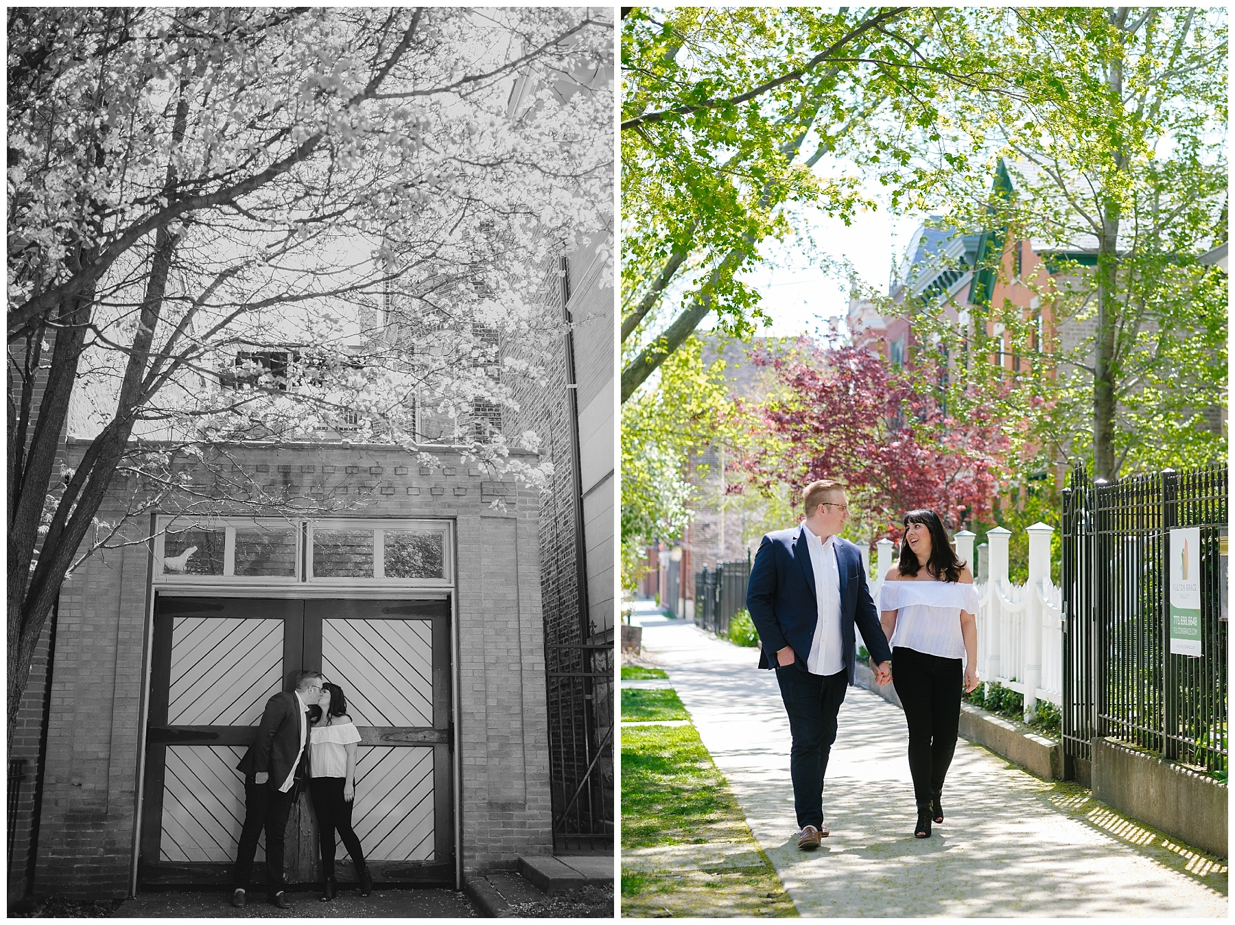 Destination Engagement Photographer, Chicago Engagement Session, Wicker Park Engagement