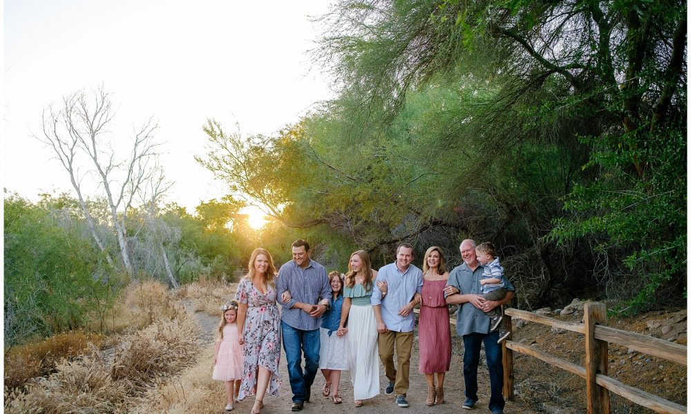 The Williams Family Central Phoenix Extended Family Portrait Session