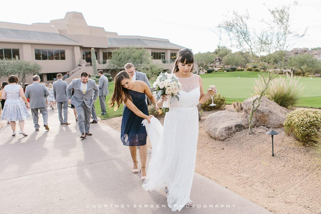 Troon North Golf Club Scottsdale Wedding Photographer 74 75